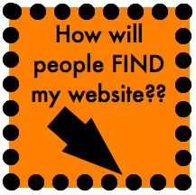 How will people find my website?