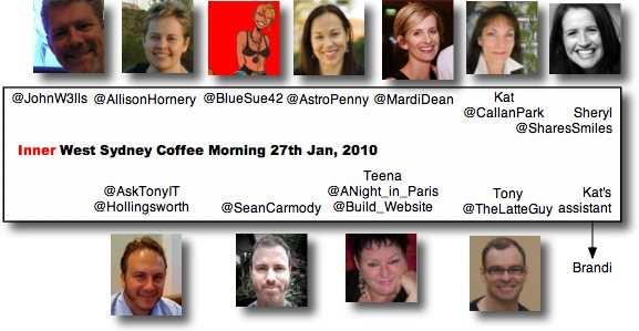 local news 27jan2010+brandi Inner West Sydney Coffee Morning 27 Jan 2010